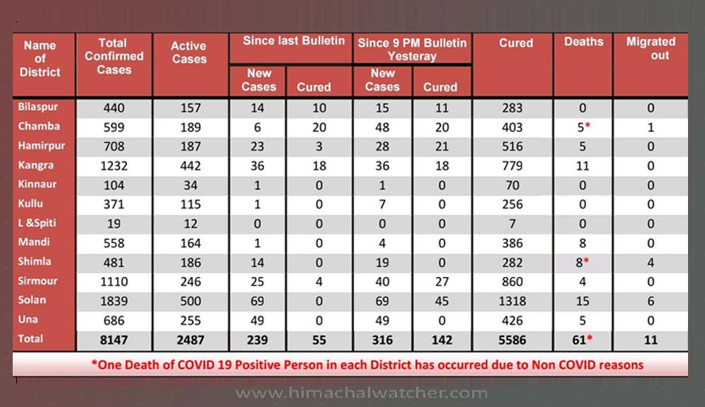 himachal pradesh daily covid-19 report