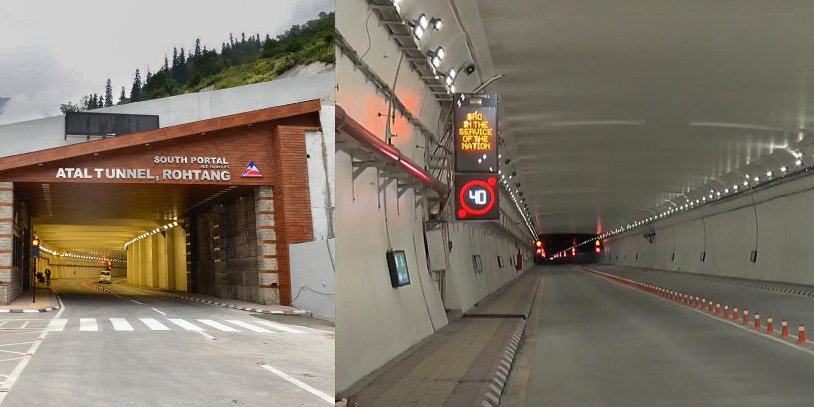 atal tunnel photos