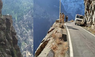 tourist dies at Suicide Point Kinnaur