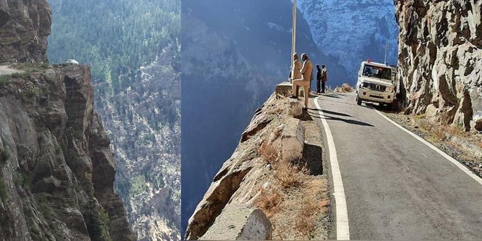 tourist dies at Suicide Point Kinnaur
