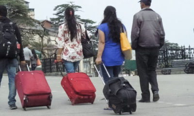 tourists in Shimla on new year 2021