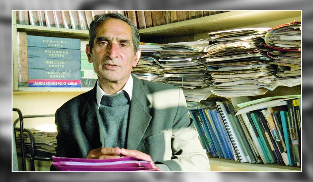 Parvez Imroz (Human Rights Lawyer and President of the globally renowned JKCCS)