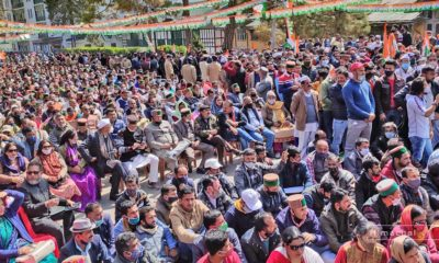 Shimla Congress Rally march 2021