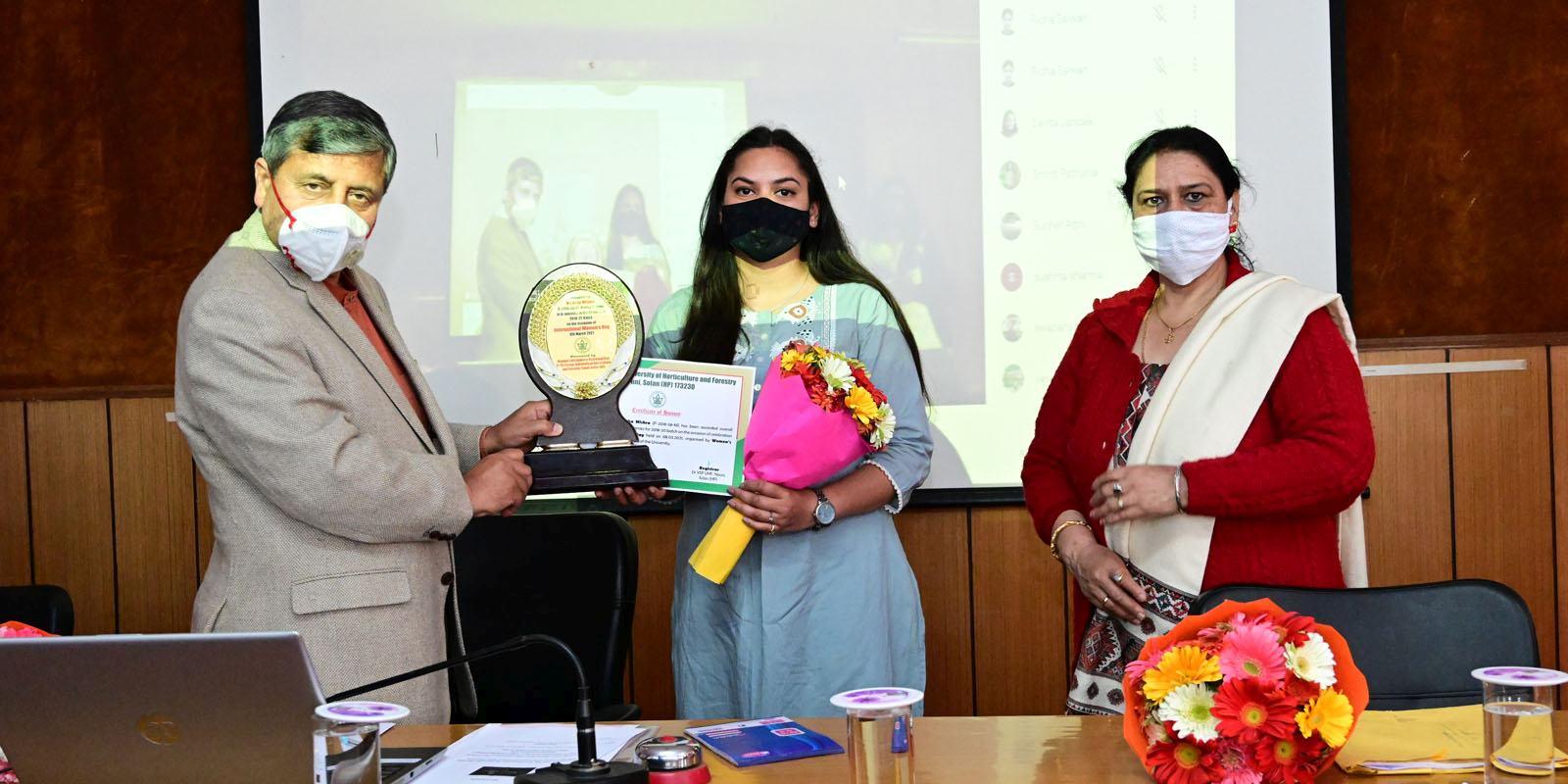 UHF Nauni Celebrates women's day 2021