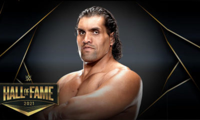 Great Khalli in hall of fame wwe
