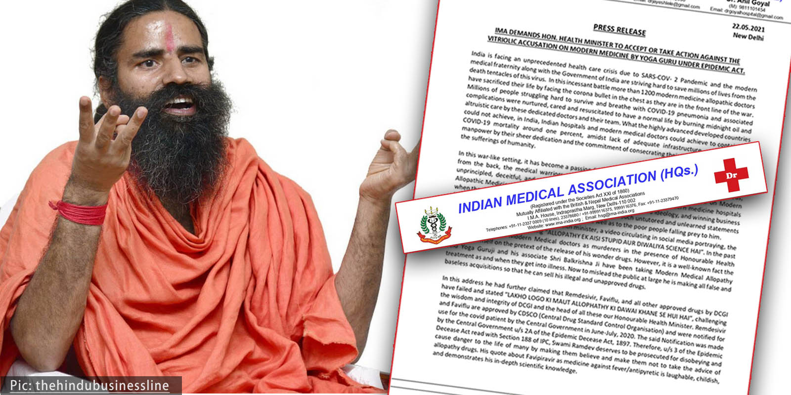 IMA statement on Baba ramdev