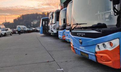 inter-state HRTC Buse service
