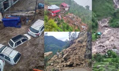 Floods and landslides in himachal pradesh