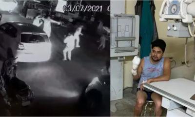 Mandi tourist attack local