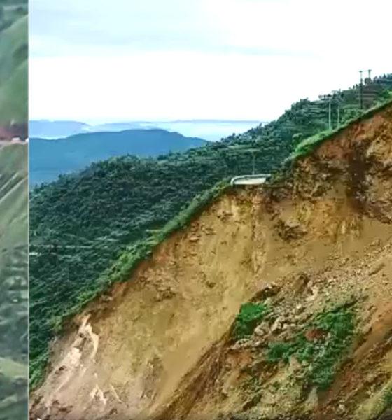 Sirmaur landslide nh 707