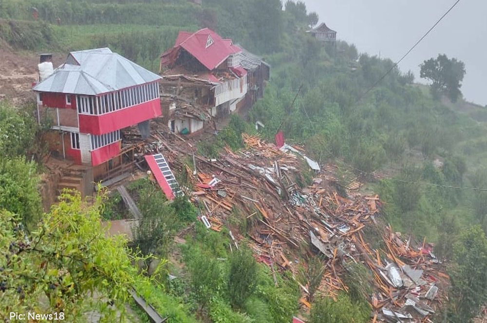 building collapse in shimla's chaupal