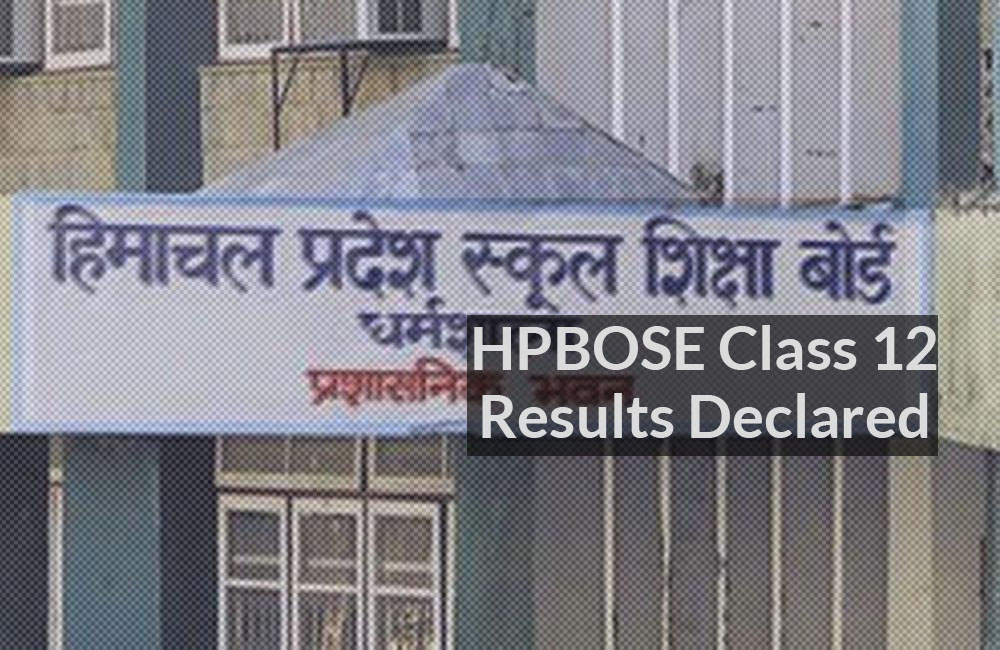hpbose class 12 results 2021