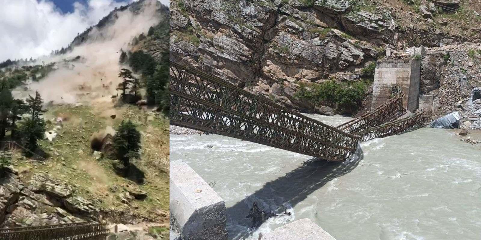 kinnaur landslide in batseri