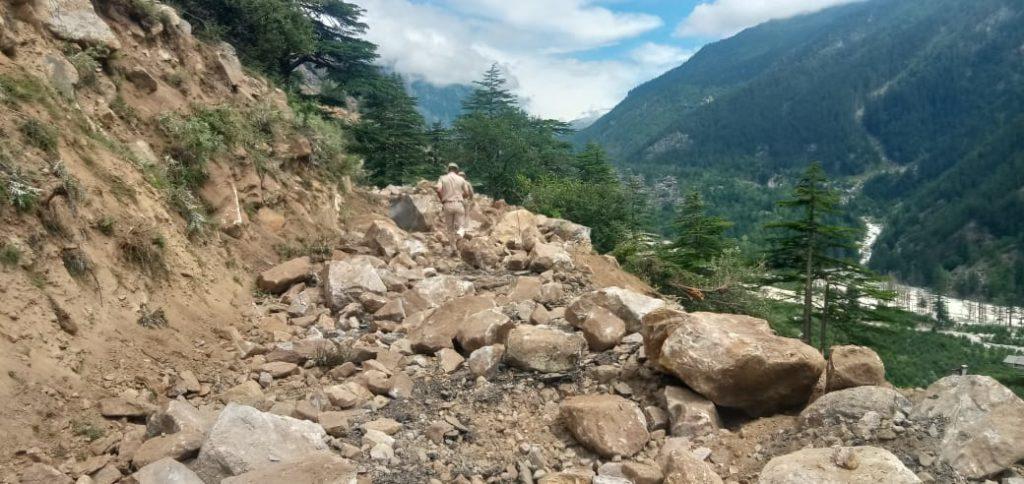 sangla valley landslide
