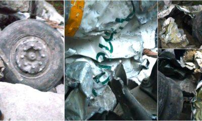 Kinnaur HRTC Bus wreckage