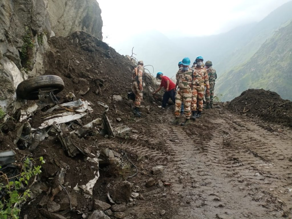 Kinnaur rescue operation pictures 2
