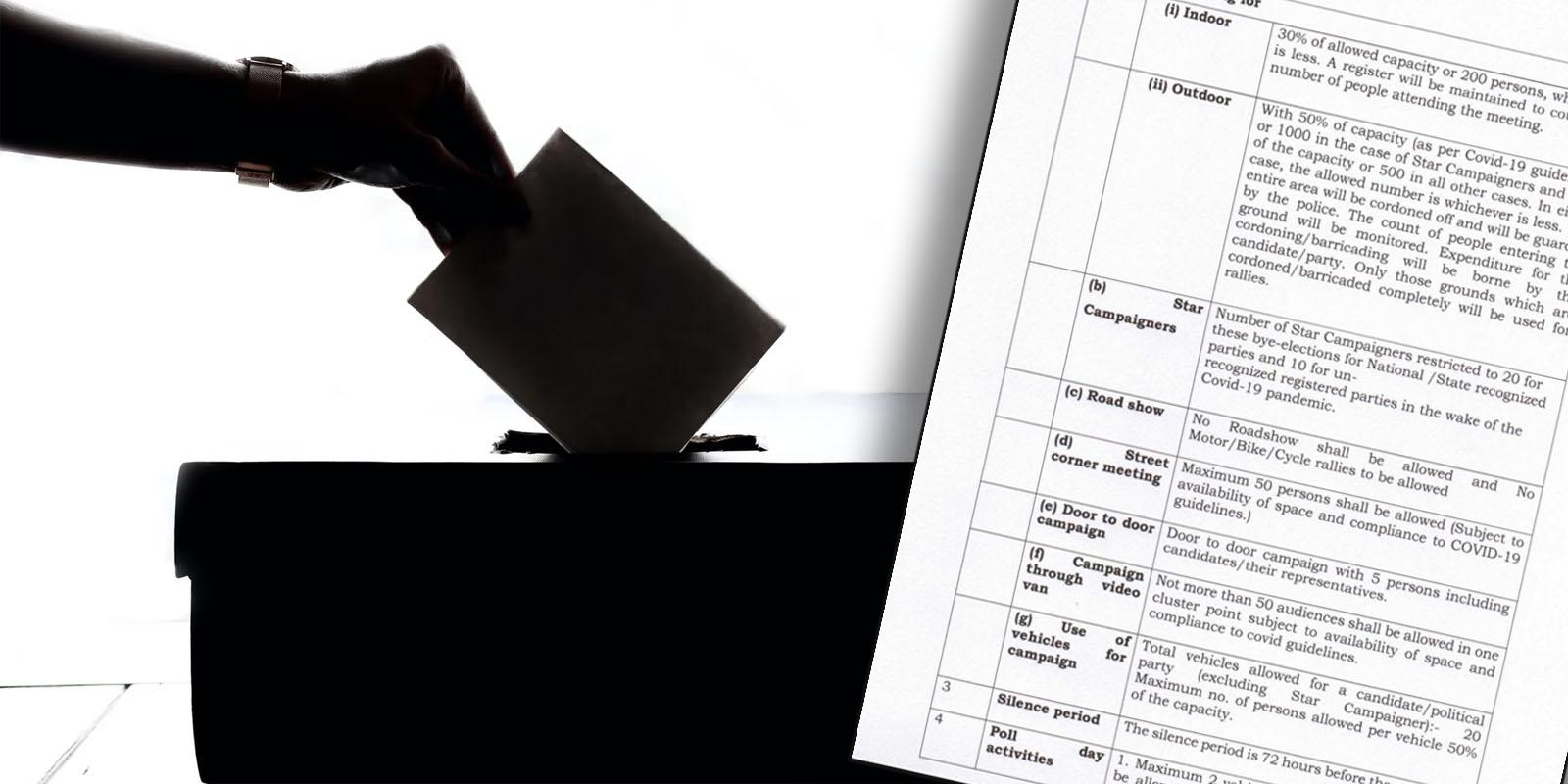 HP Bye Polls 2021 guidelines
