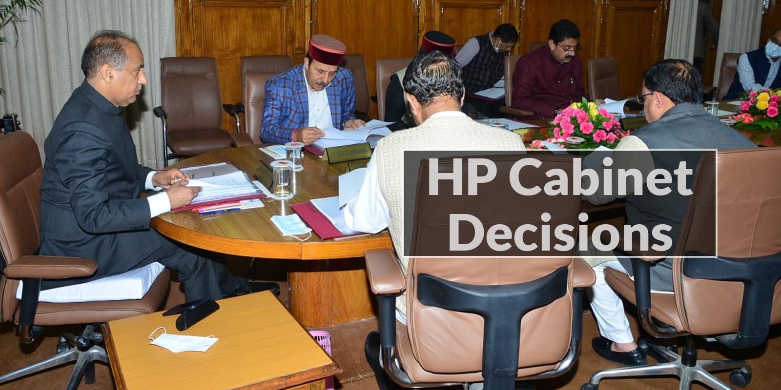 HP Cabinet Decisions september 24, 2021