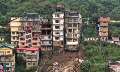 shimla Kachi Ghati Unsafe buildings